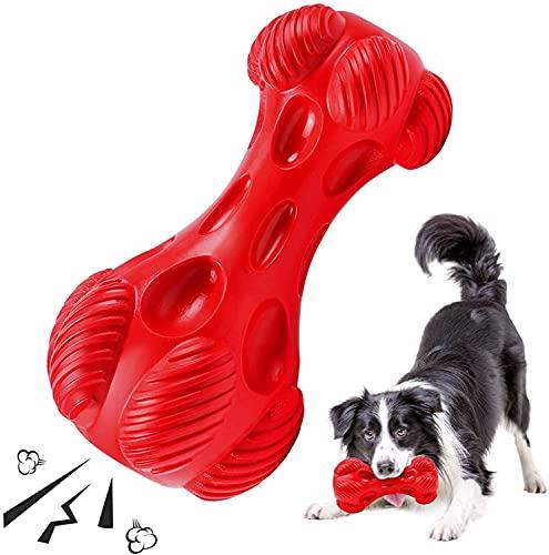 ZJIEX Hundespielzeug, Ultra-langlebiges Chewer-Dog Zahnbürste Robustes Kauspielzeug für Mittelgroße...