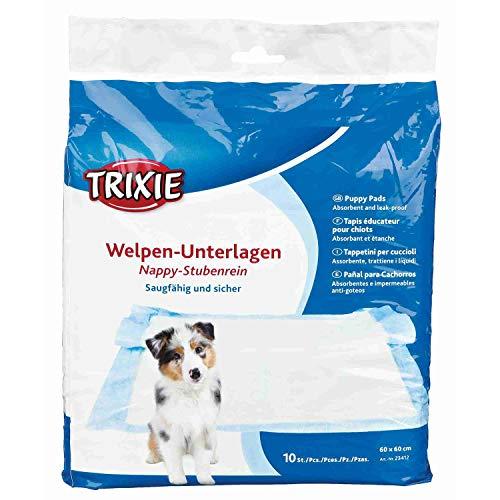 Trixie 23412 Welpen-Unterlage Nappy-Stubenrein, 60 × 60 cm, 10 St.