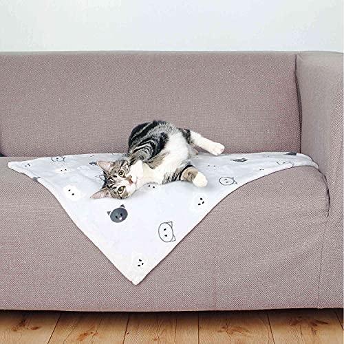 Trixie 37168 Decke Mimi, 70 × 50 cm, hellgrau