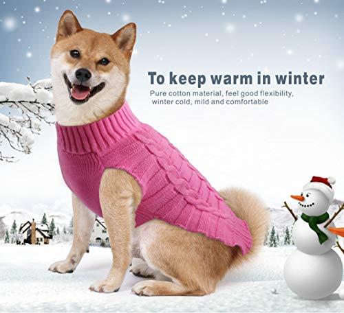 Idepet Hundepullover/Katzenpullover mit Kapuze, Fleece, für kleine und mittelgroße und große Hunde