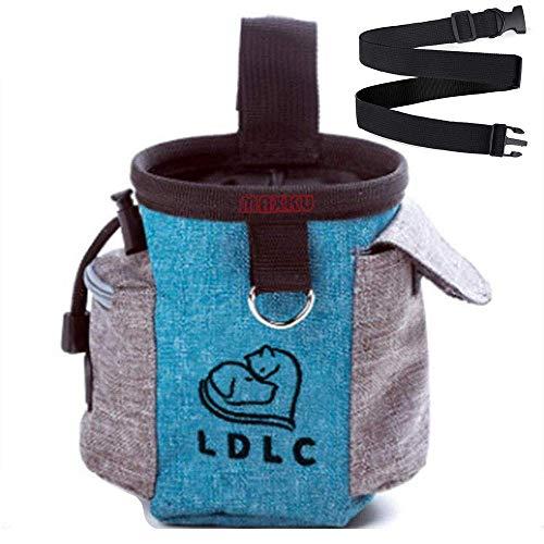 Sccarlettly Futterbeutel Fur Hunde Leckerlitasche Snack Bag Mit Chic Clip Lasche Futtertasche Fur...