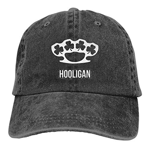 shenguang Irish Hooligan 1 verstellbare Vintage Gewaschene Denim Baumwolle Papa Hut Baseball Caps Outdoor...