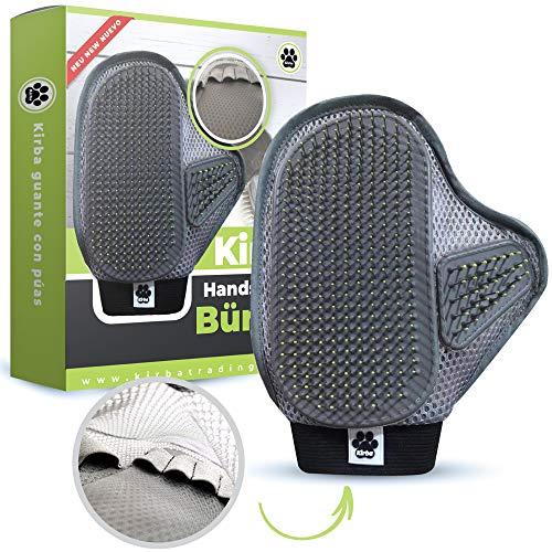 Kirba Trading ® Premium Handschuhbürste für Hund & Katze (verbesserte Version) - Handschuh für...