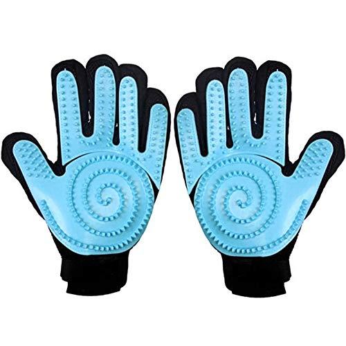 Tonsooze Haustier Handschuh, Pet Bürste Handschuh, Pet Fellpflege Handschuh Tierhaarentferner Handschuh...