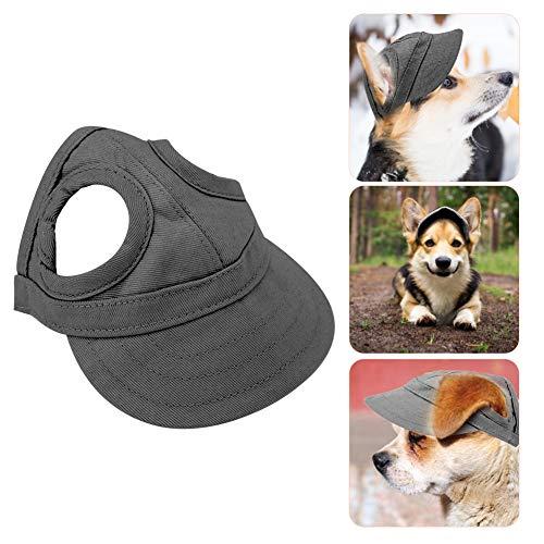 Pssopp Baseballmütze für Haustiere, Hunde Mütze Hund Sport Hut Hunde Sonnenhut Einstellbare Streifen...