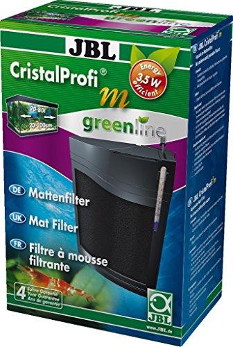 JBL CristalProfi m greenline 6096000, Mattenfilter inkl. Pumpe, Für Aquarien von 20-80 l