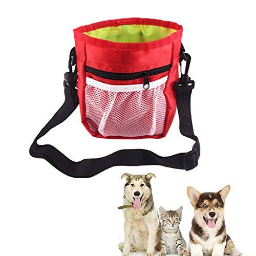 zfdg Pet Treat Bag, Wasserdicht Hunde Futterbeutel, Dog Treat Trainingsbeutel Tasche, Hunde Leckerlie...