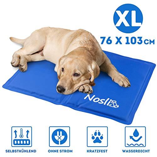 Nosli Kühlmatte für Hunde und Katzen - Idealer Schutz bei Hitze für Haustiere - Kältematte...