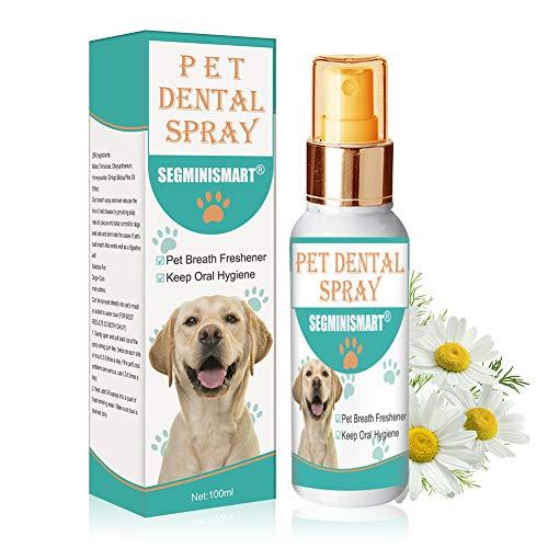 SEGMINISMART Dentalspray für Hunde und Katzen, Dental Care Spray, Zahnpflege Dentalspray für Hunde &...
