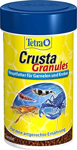 Tetra Crusta Granules (Hauptfutter für Garnelen, Krebse und Landkrabben, für eine artgerechte...