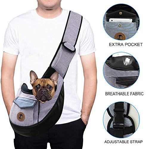 Zuukoo Tragetuch Hund, Hundetragebeutel Tragetücher Kleine Haustier Schilderträger Single-Schulter...