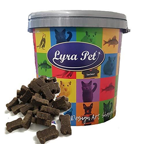 Lyra Pet® 5 kg Hundeknochen mit Insekten Kausnack Leckerli Belohnung Hundefutter Kauartikel Hund in 30 L...