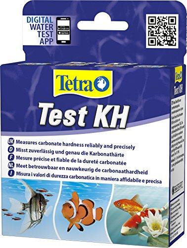 Tetra Test KH (Karbonathärte) - Wassertest für Süßwasser-Aquarien, Meerwasser-Aquarien und...