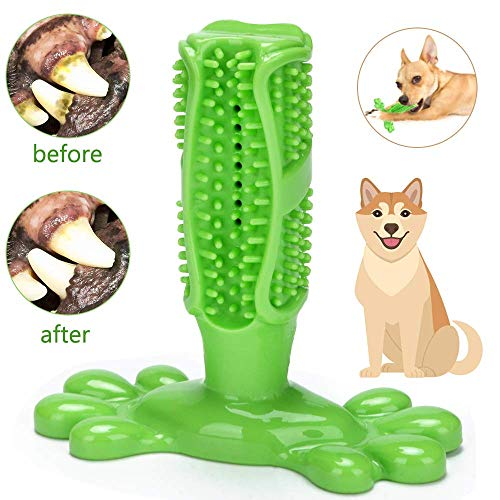 ASANMU Hundezahnbürste, Hunde Zahnbürste Hundespielzeug Hunde Kauspielzeug Zahnpflege aus...