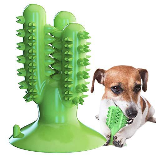 Hundezahnbürste Hundespielzeug Kauspielzeug Gummi Zahnreinigung Hunde Zahnbürste Stick Langlebig für...