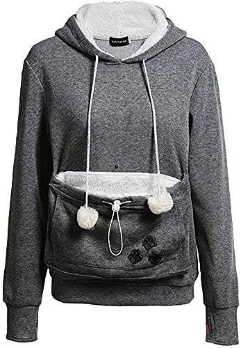 ShallGood Damen Frauen Niedliche Kängurus Kapuzenpullover Tasche Hoodie Langarm Pullover Sweatshirt...