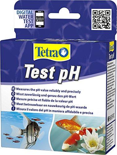 Tetra Test pH - Wassertest für Süßwasser-Aquarien und Gartenteiche, misst zuverlässig und genau den...