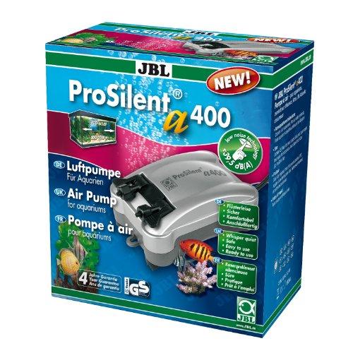 JBL ProSilent a400 Luftpumpe für Süß- und Meerwasseraquarien von 200-600 L, 6054400