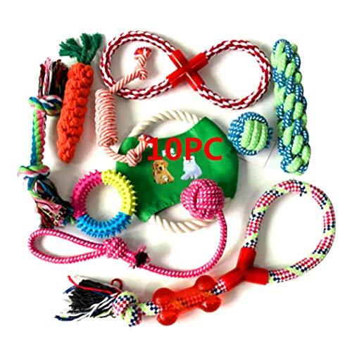 Welpenspielzeug Set,Hundespielzeug Unzerstörbar,Hunde Spielzeug Für Kleine Hunde,Welpen Zubehör, Hunde...