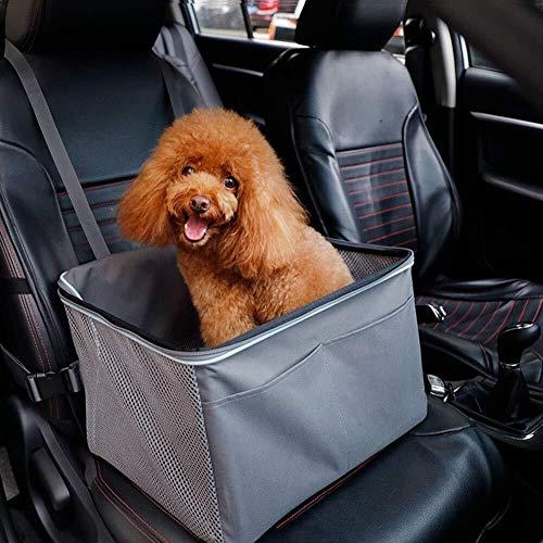 ETH Haustier Auto Sitzerhöhung, Hund Katze Sitzerhöhung Atmungsaktive wasserdichte Abdeckung Protector...