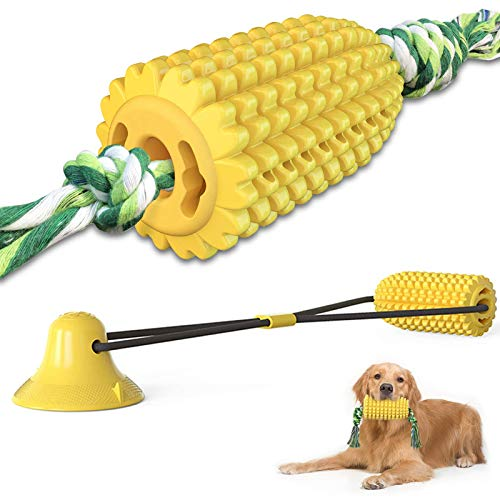 2 Stücke Maisförmig Hundezahnbürste Keilförmiger Hundezahnbürste Kau Mais Hundespielzeug...