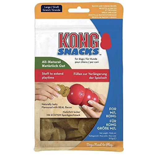 KONG – Snacks – Hundesnacks mit Natürlichen Zutaten (Ideal Kautschuk) – Schinken & Käse – Für...