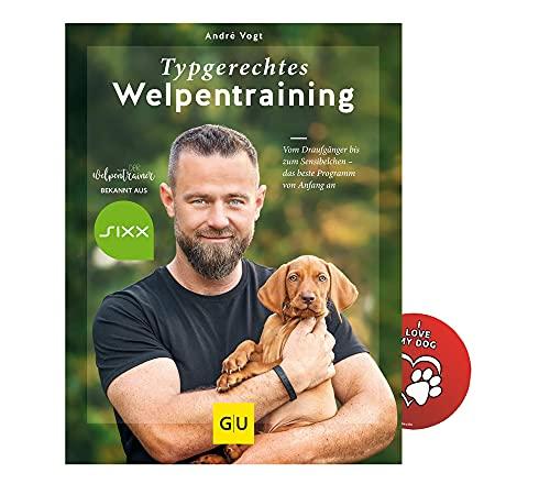 Typgerechtes Welpentraining: Vom Draufgänger bis zum Sensibelchen I Hundebuch + Hunde-Sticker