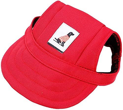 Shoplifemore Hund Sombrero, Hund Baseballkappe, Hund Sonnenhut, Hund Outdoor Sport Sonnenschutz...