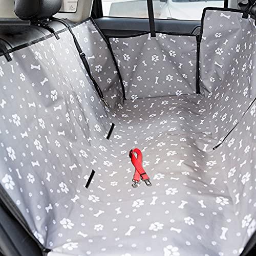 iSpchen Autositzbezug Hundedecke Autoschondecke Kofferraum Schutz Wasserdichter Sitzbezug Schondecken...