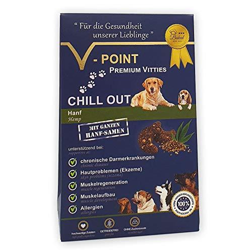 V-POINT Premium Vitties für Hunde unterstützt Muskelaufbau Muskelregeneration bei Darmerkrankung...