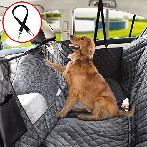Vailge Autoschondecke für Hunde Rücksitz rutschfeste Hundedecke Auto Rückbank wasserdichte mit...