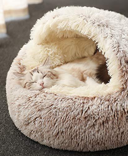 Katzenschlafsack, Plüsch-Katzenbett, Decke, selbstwärmend, Haustier, Katzensack, Zelt, Höhle, weich,...