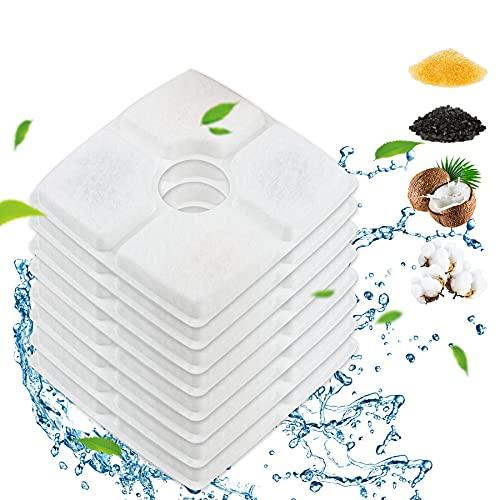 Trinkbrunnen Filter,Trinkbrunnen für Katze, Ersatzfilter für Trinkbrunnen für Katzen und Hunde,...