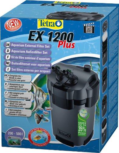 Tetra Aquarien Außenfilter EX Plus 1200 (leistungstarker Filter für Aquarien von 200-500 L, schafft...