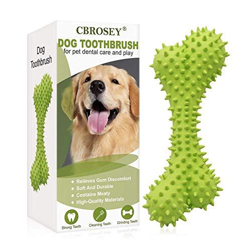 CBROSEY Kauspielzeug für Hunde,Kauspielzeug Hund Unzerstörbar,Zahnpflege für Hunde,Zahnsteinentferner...