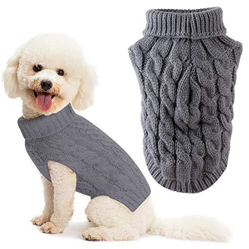 Hundepullover, Hundepullover Kleine Hunde, Haustier Pullover Rollkragen, Hundepullover Große Hunde,...