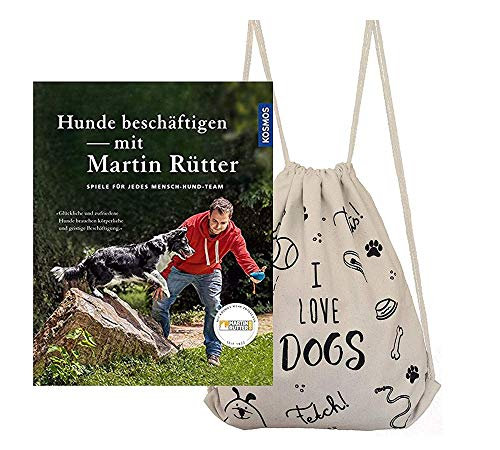Kosmos Hunde beschäftigen mit Martin Rütter + stylischer Hunde-Beutel & gratis Hunde-Spielball für...
