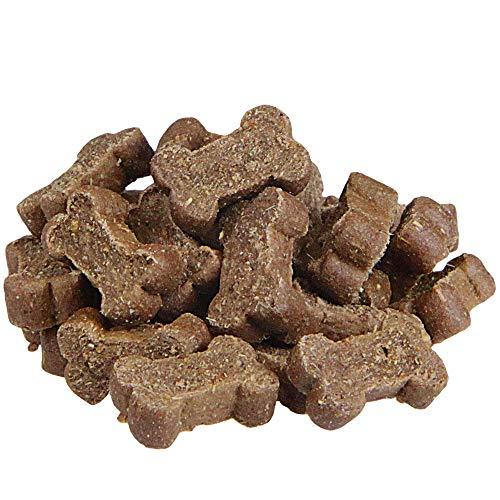 Schecker 200g Mini Soft Knochen mit Pferd & Kartoffel - Glutenfrei - Getreidefreie Hundekekse...