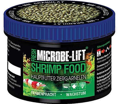 MICROBE-LIFT Shrimp Food - Granulatfutter, Alleinfutter für Garnelen in jedem Süßwasseraquarium, 150ml...