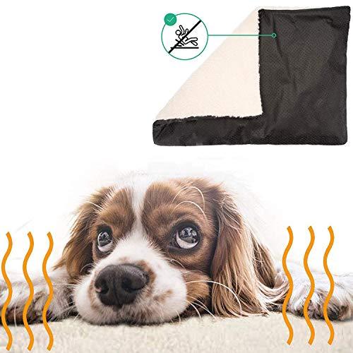 Vawal Selbstheizende Decke für Katzen & Hunde, Katzendecken Haustierdecke Wärmematte für Tiere,...