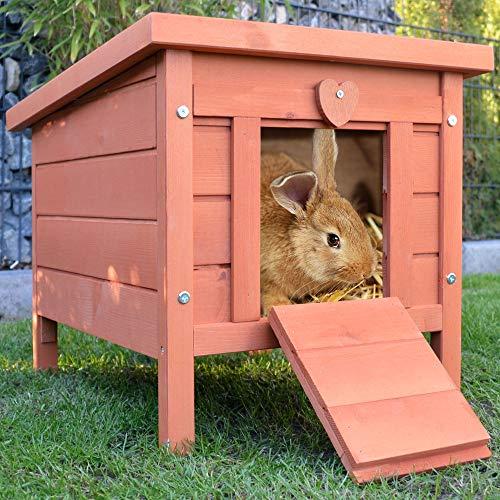 zooprinz großes Kleintierhaus mit klappbarem Dach – perfekt für draußen und drinnen – Besonders...