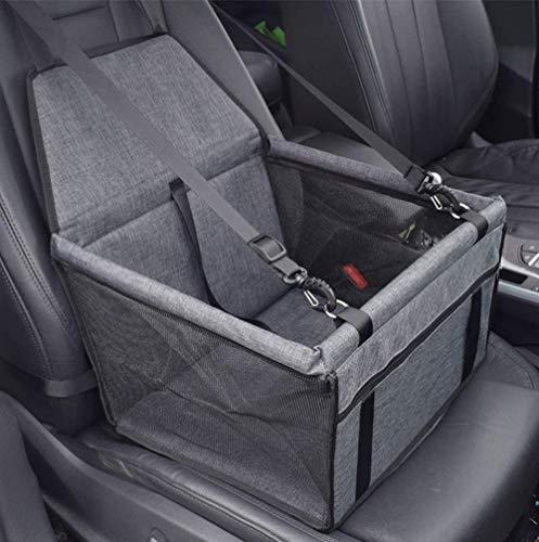 VORRINC Hunde Autositz,Sitzerhöhung für Hunde,Wasserdicht Faltbar Atmungsaktiv Haustier...