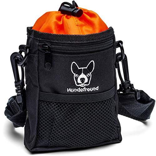 Hundefreund Leckerlibeutel für Hunde | Kleiner Futterbeutel zum Training mit dem Hund und für Leckerlis...