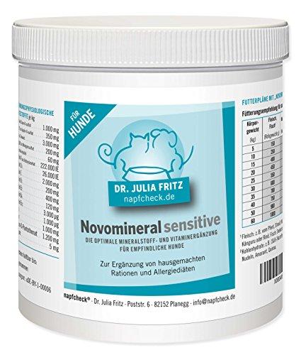 napfcheck Novomineral Sensitive - Mineralien und Vitamine für empfindliche Hunde - 500 g