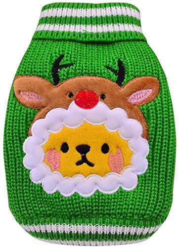 ccfgh Hund Katze Pullover Weihnachten Haustier Warm Herbst Winter Mantel Baumwolle Hundekleidung Outdoor...