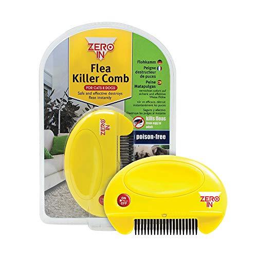 STV International Zero in Flea Killer-Comb - Clear, Unisex, VIC0128