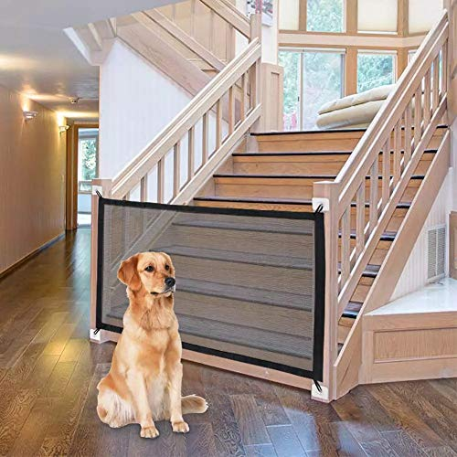 SCOBUTY Treppenschutzgitter für Hunde