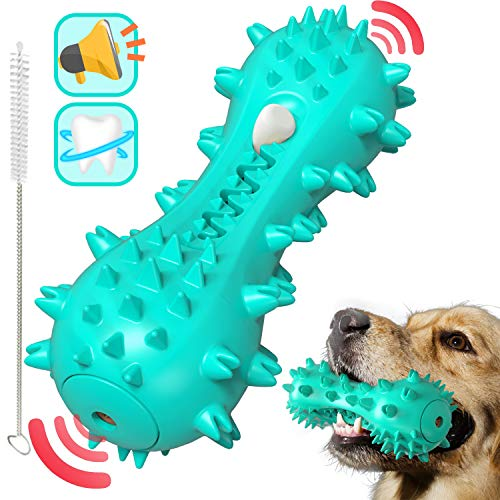 Rmolitty Hundespielzeug, Hunde Kauspielzeug Hundezahnbürste, Beißfest Langlebige...