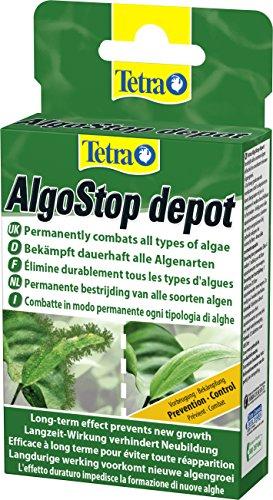Tetra AlgoStop depot, formstabile Tabletten zur gezielten Langzeitbekämpfung von Algen in Aquarien, 1er...