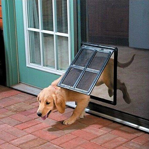 Namsan Hundeklappen Katzenklappe für Fliegengittertür Einfach zu Installieren Abschließbar...